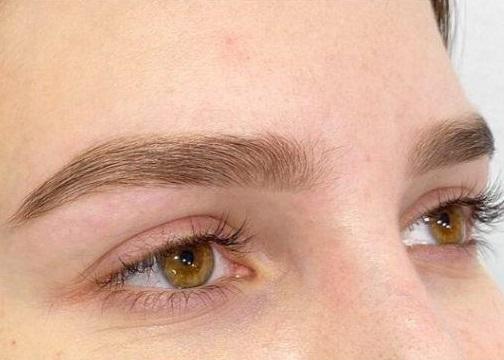 Laminación de cejas